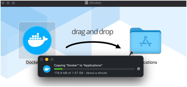 Move Docket to application - How to set docker app on mac terminal - Lia infraservices